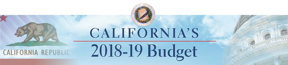 California Legislature's 2017-18 Budget