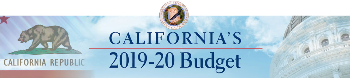 California Legislature's 2019-20 Budget