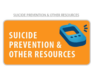 Suicide prevention and other resources