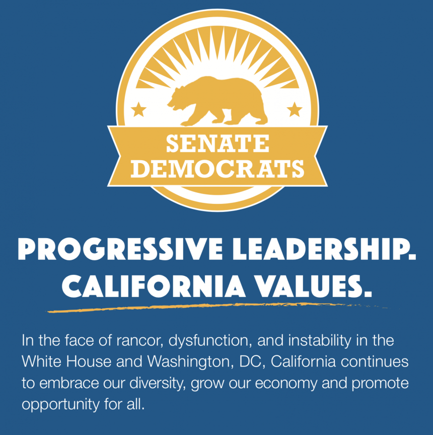 Progressive Leadership - California Values
